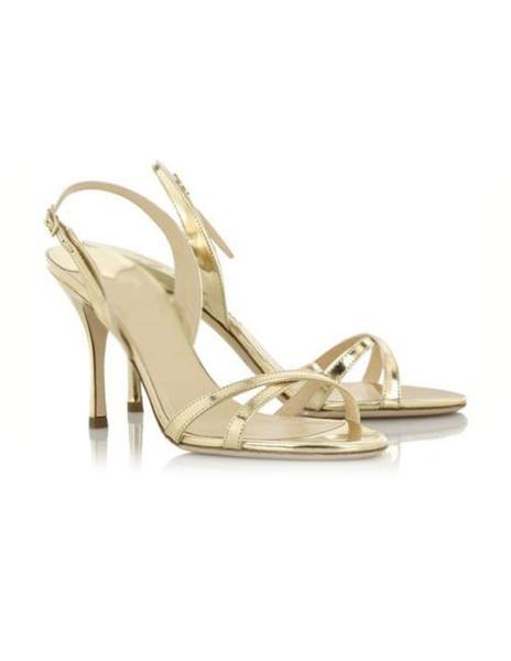 Milanoo High Heel Sandals Silver Open Toe Slingback Stiletto Heel Sandals for Women