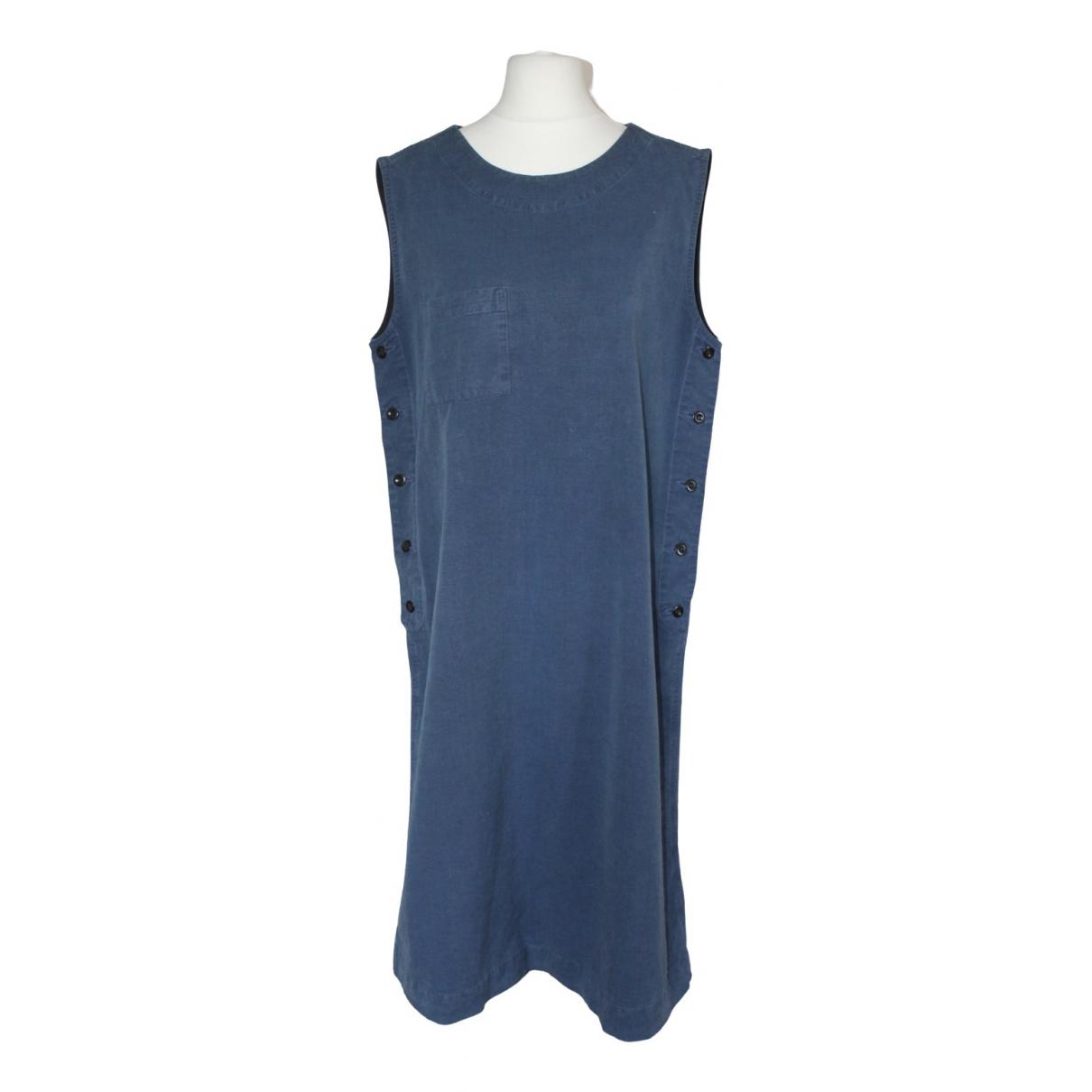 Margaret Howell \N Blue Cotton dress for Women M International