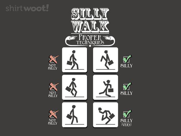Silly Walking T Shirt