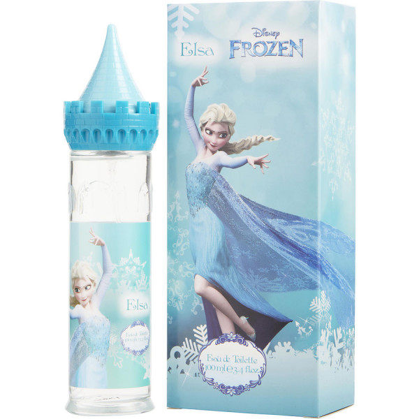 Disney - Frozen Elsa : Eau de Toilette Spray 3.4 Oz / 100 ml