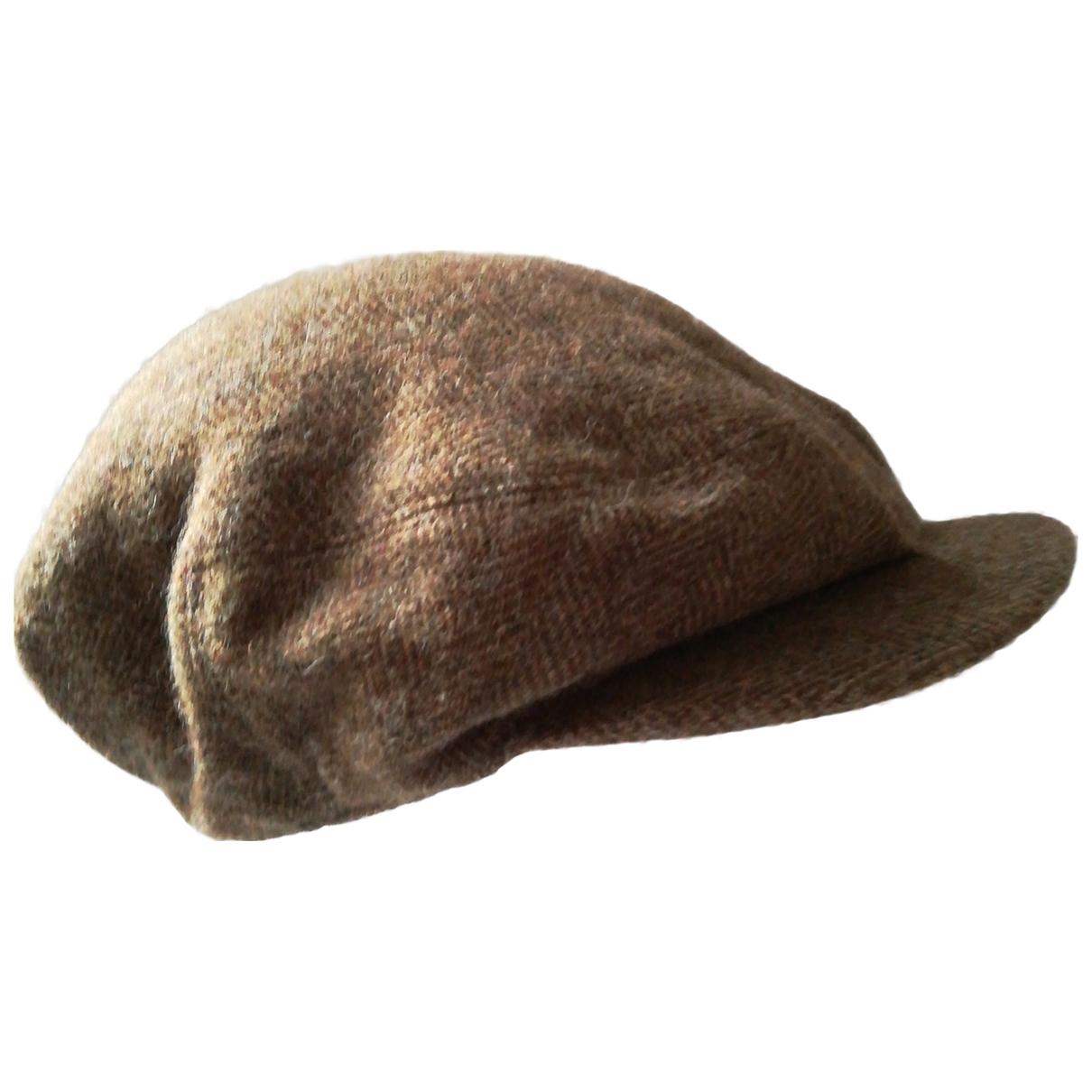 Polo Ralph Lauren - Chapeau & Bonnets   pour homme en laine - marron