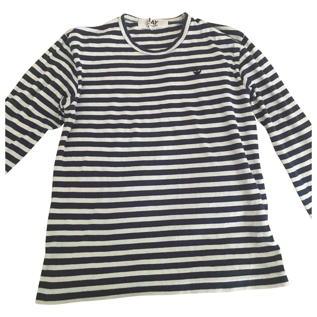 Play Comme Des Garcons \N T-Shirts in  Marine Baumwolle