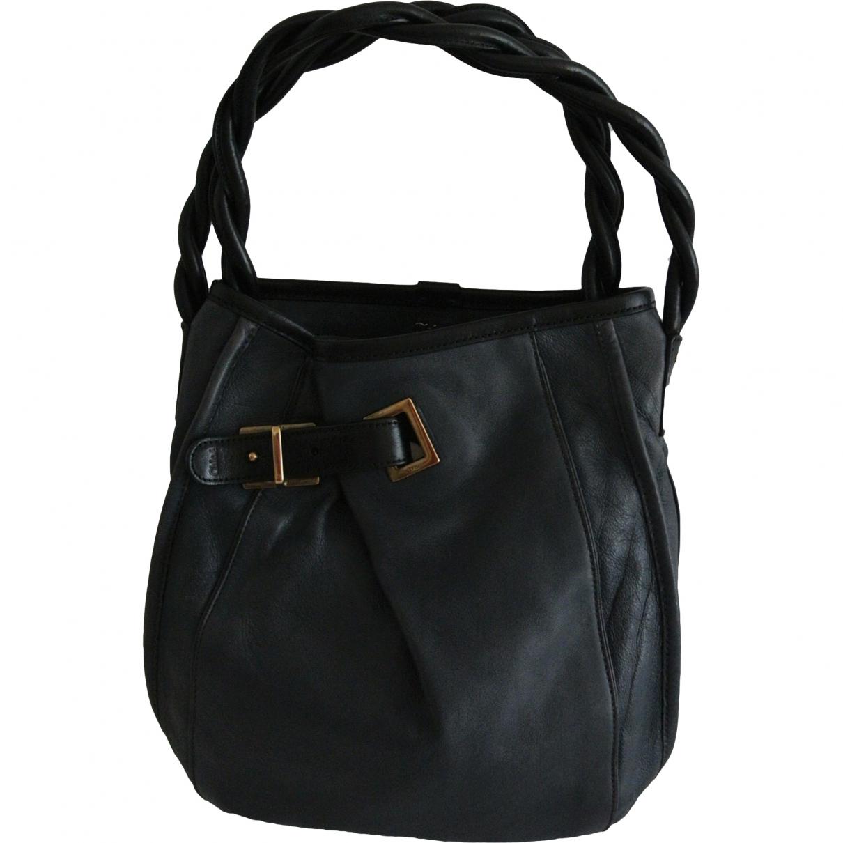 Chloe \N Handtasche in  Blau Leder