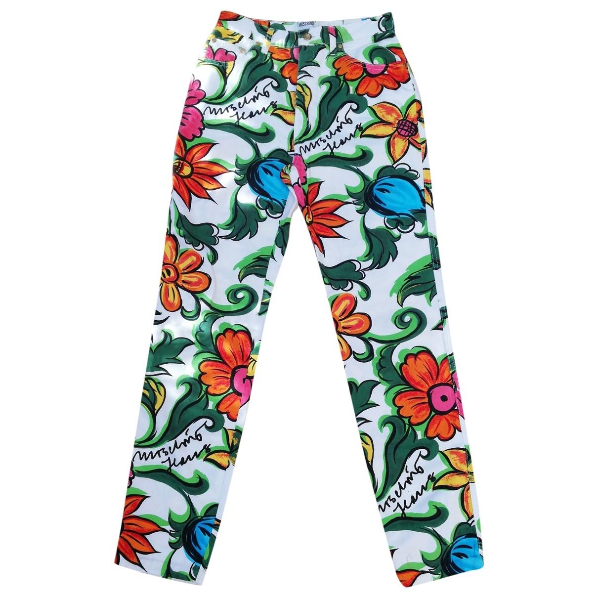 Pantalon recto Moschino Cheap And Chic
