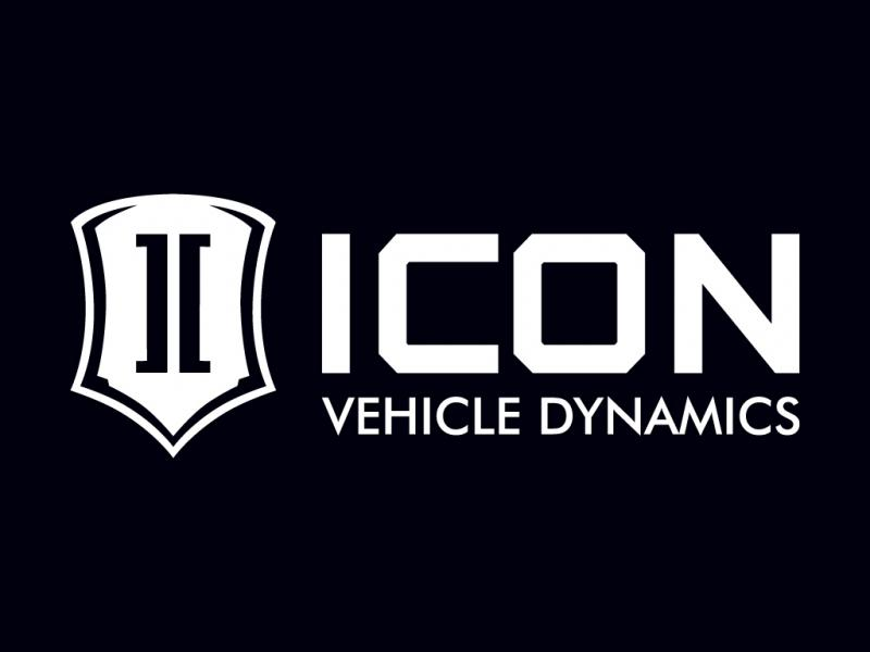 ICON Vehicle Dynamics 12 IN WIDE ICON STANDARD WHITE
