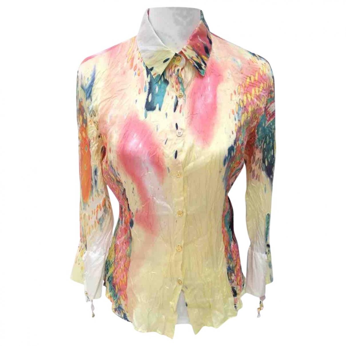 Roberto Cavalli \N Multicolour Silk  top for Women L International