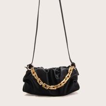 Bolsa fruncido con cadena