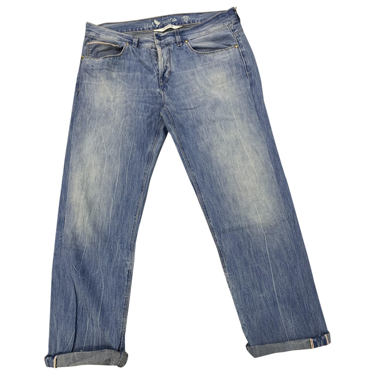 Mih Jeans \N Blue Denim - Jeans Jeans for Women 29 US