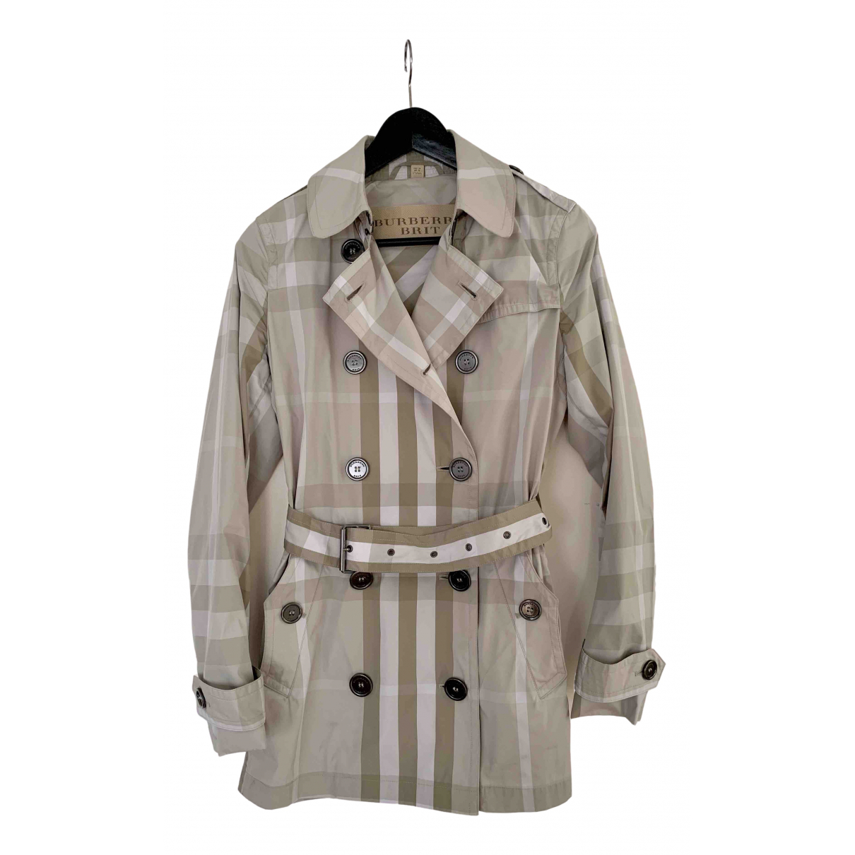 Burberry \N Green coat for Women 40 IT