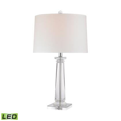 D2843-LED Classical Column LED Table Lamp  In