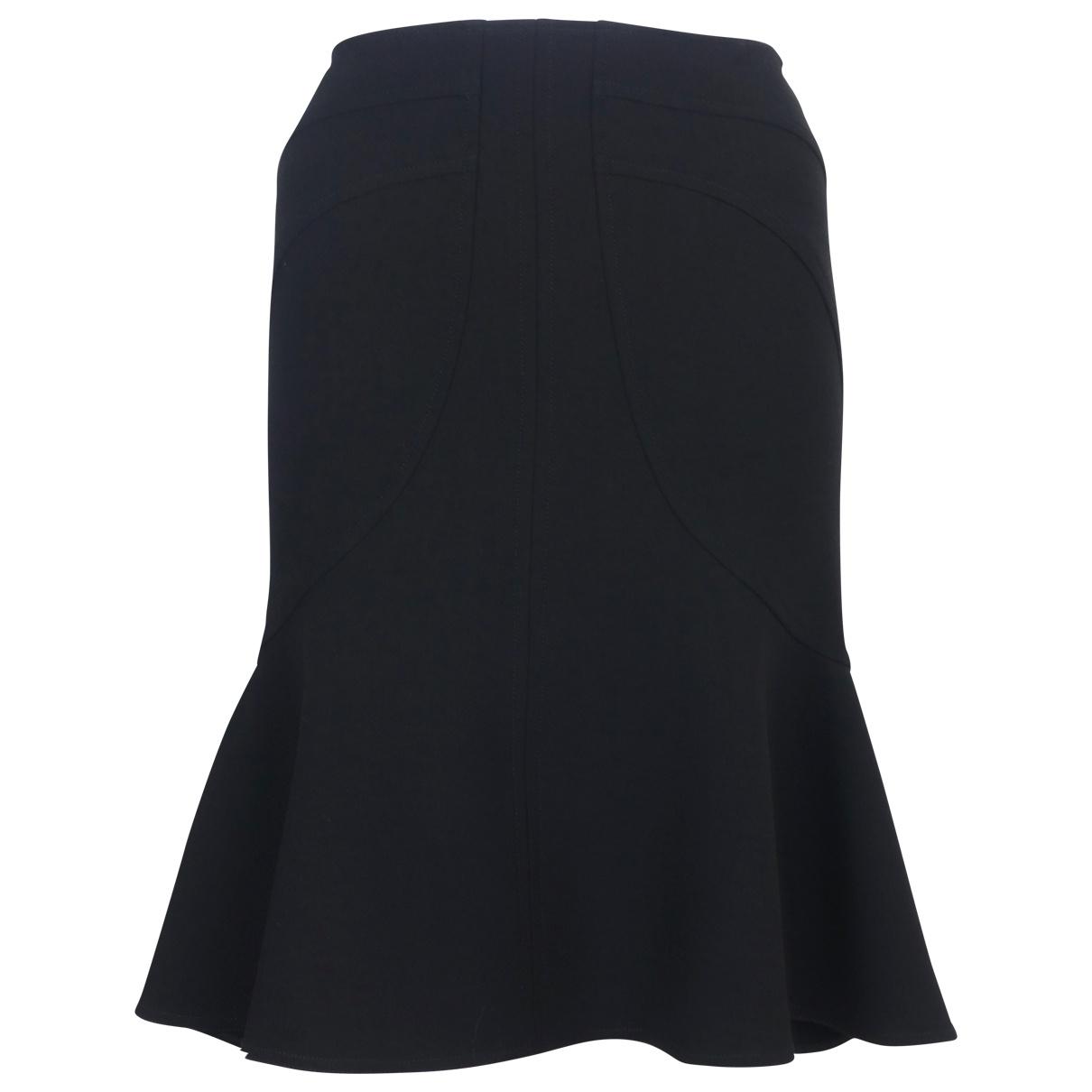 Versace \N Black Wool skirt for Women 38 FR