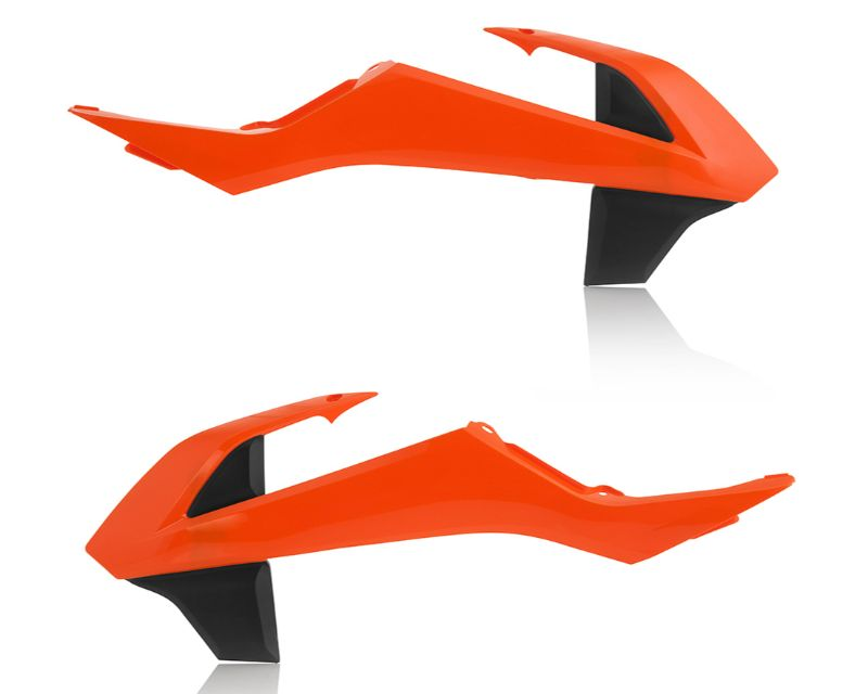 Acerbis 2449705226 Radiator Shroud Orange KTM SX65 16-18