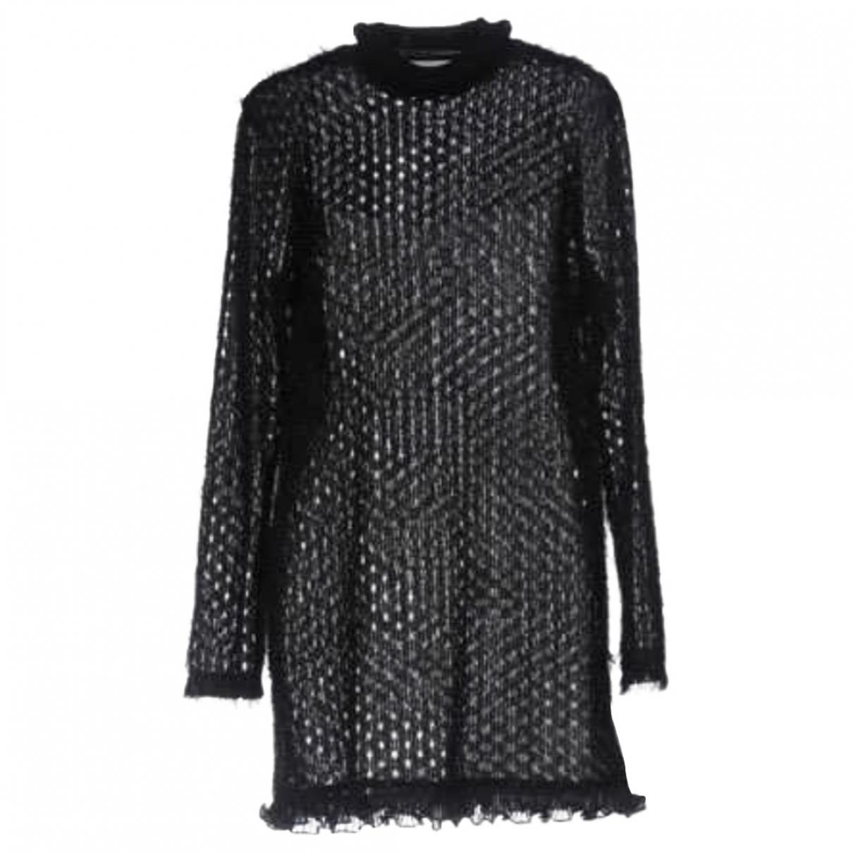 Carven \N Kleid in  Schwarz Mit Pailletten