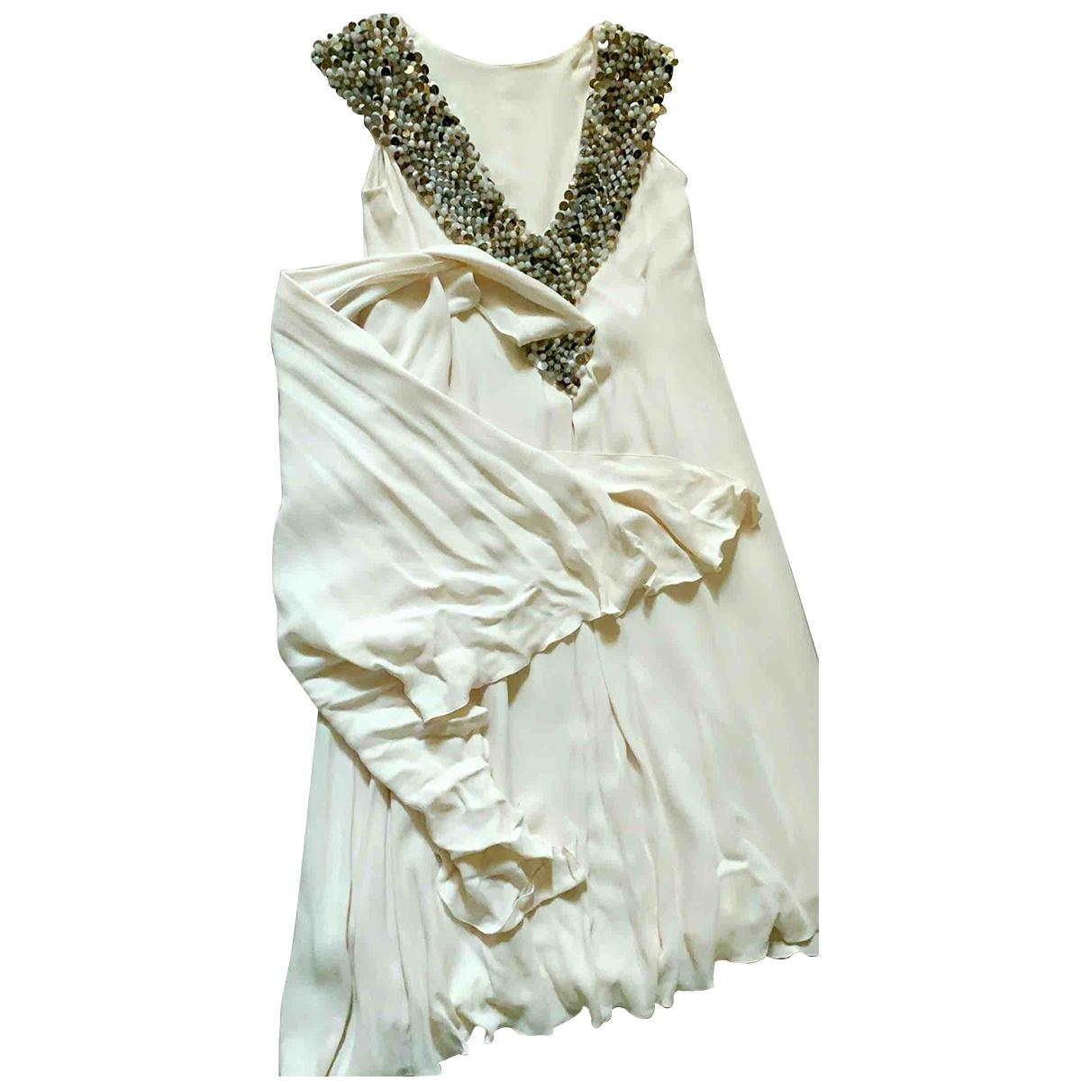 Maxi vestido de Seda Chanel