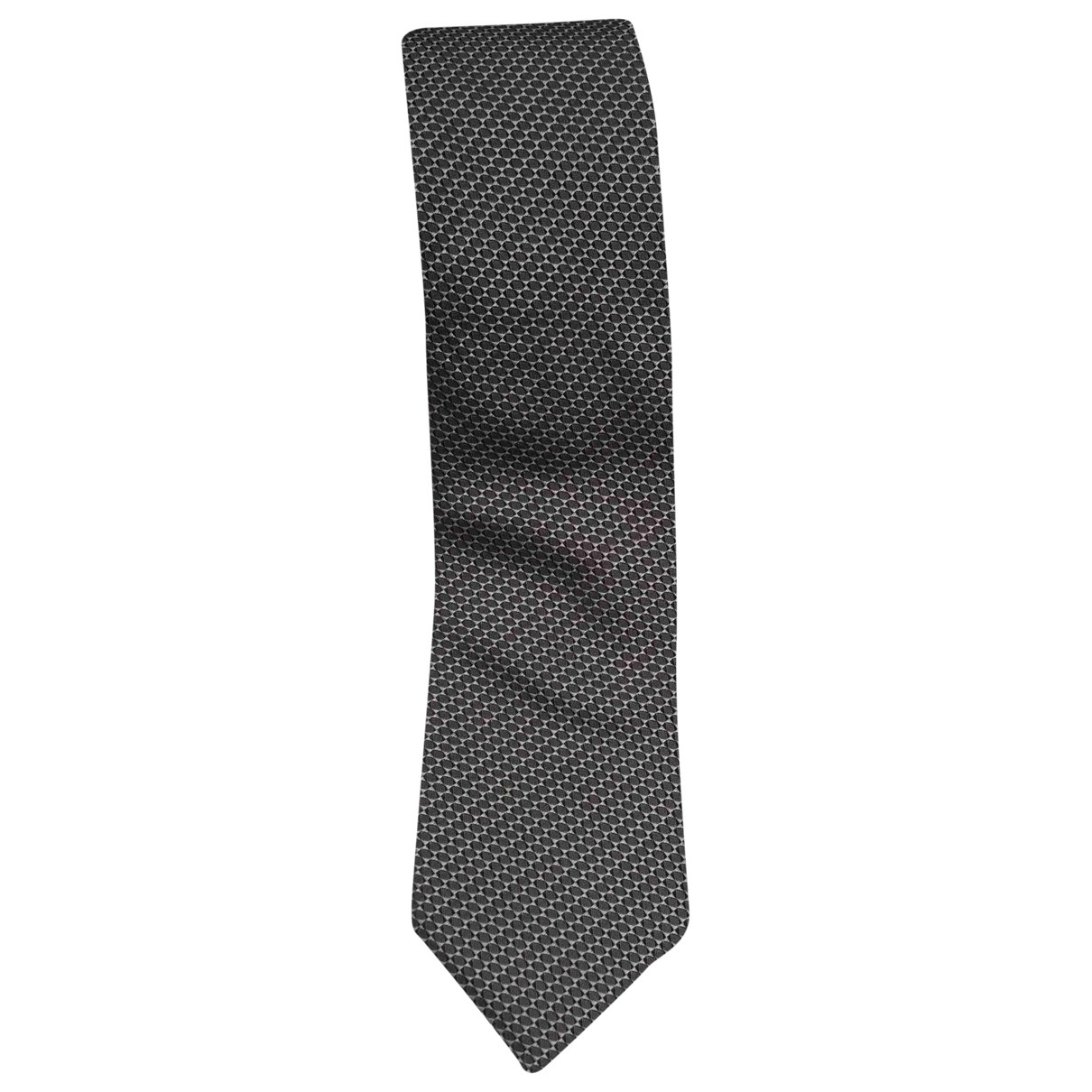 Hugo Boss \N Grey Silk Ties for Men \N