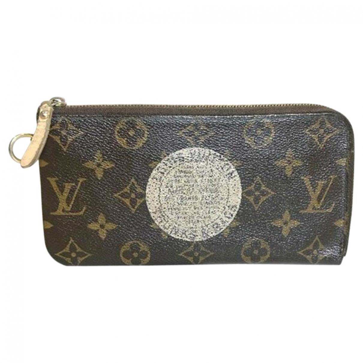 Cartera Ikat de Lona Louis Vuitton