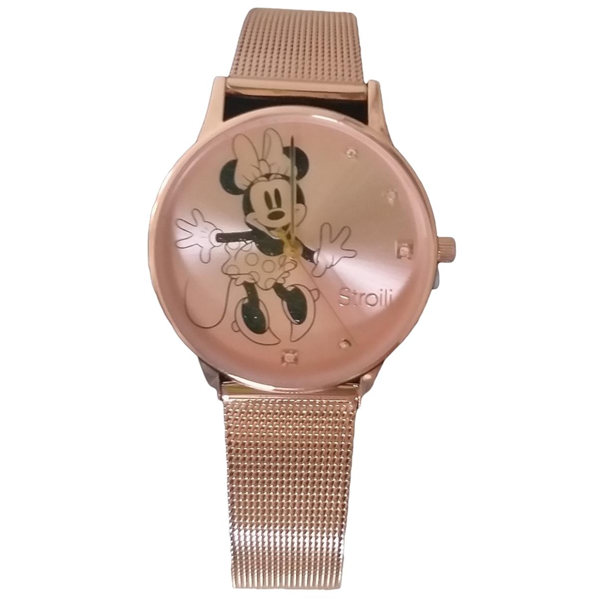 Stroili \N Pink Steel watch for Women \N