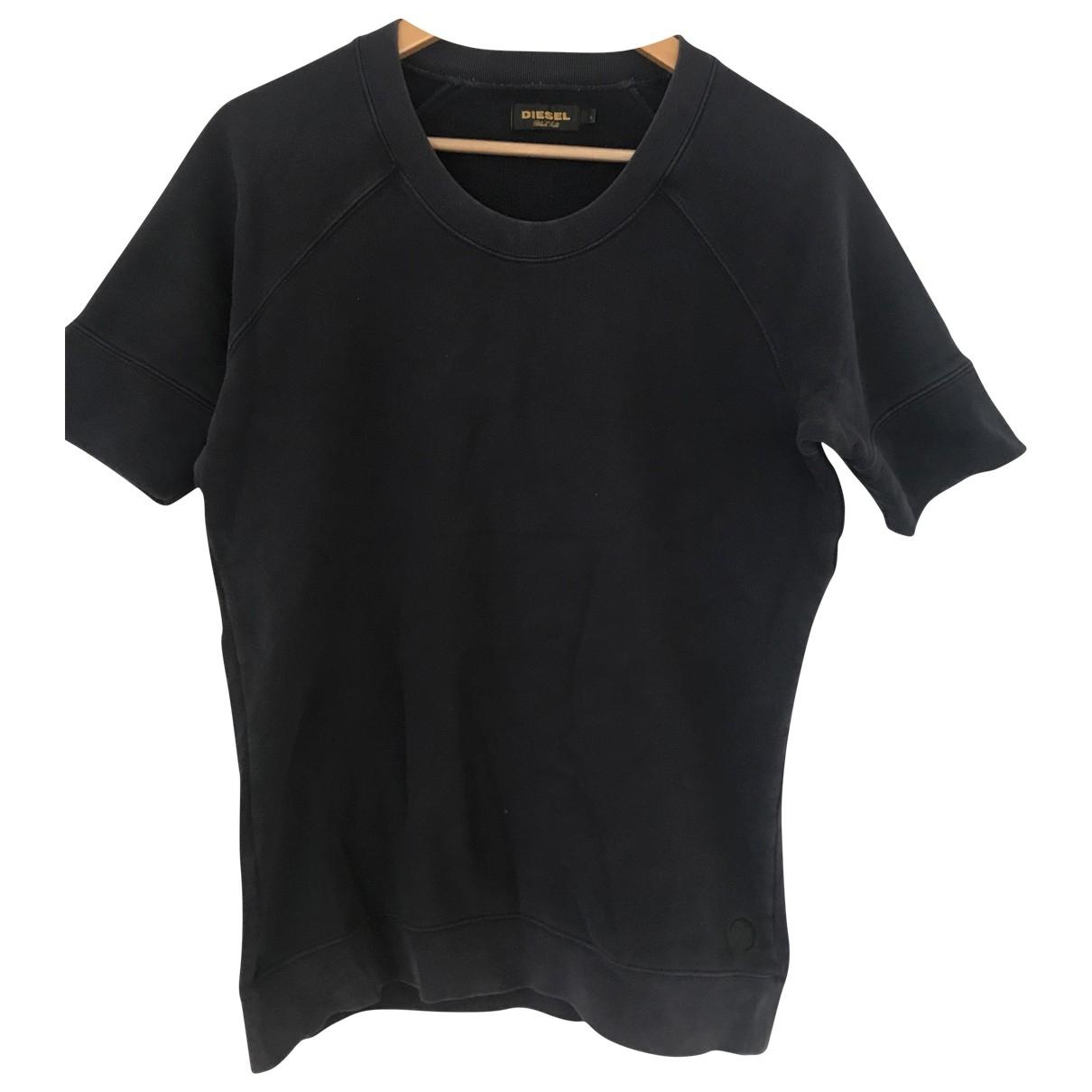 Diesel Black Gold \N Pullover.Westen.Sweatshirts  in  Blau Baumwolle
