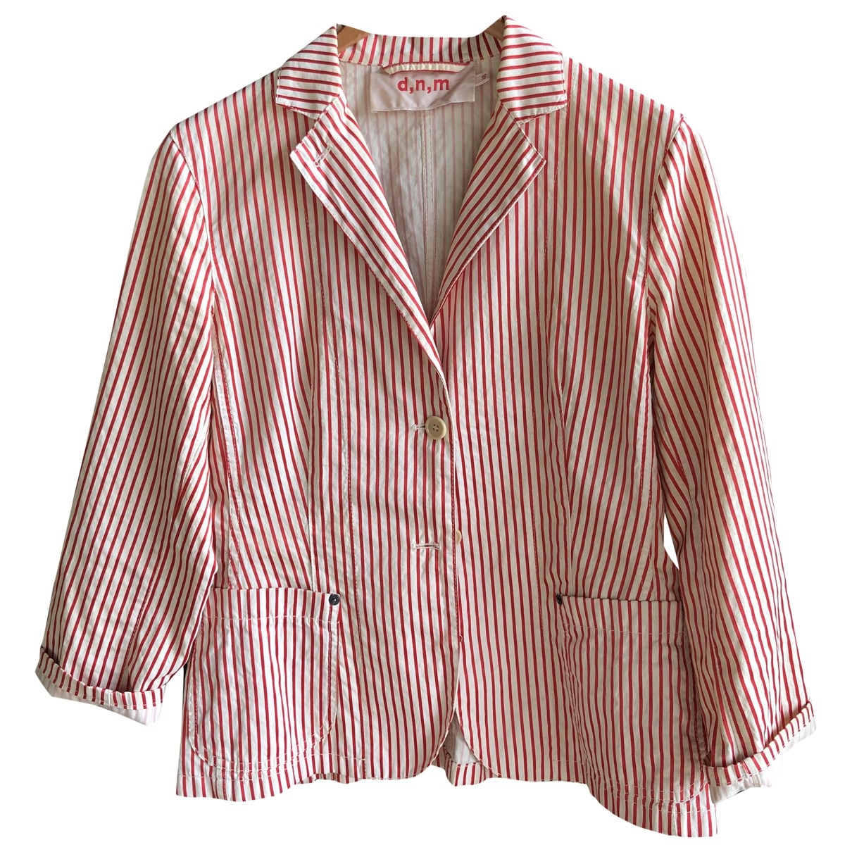 Non Signé / Unsigned \N Red Cotton jacket for Women M International
