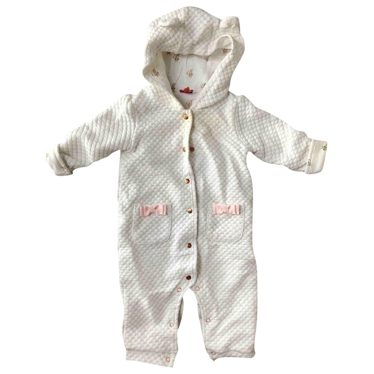 Ted Baker - Blousons.Manteaux   pour enfant en coton - blanc