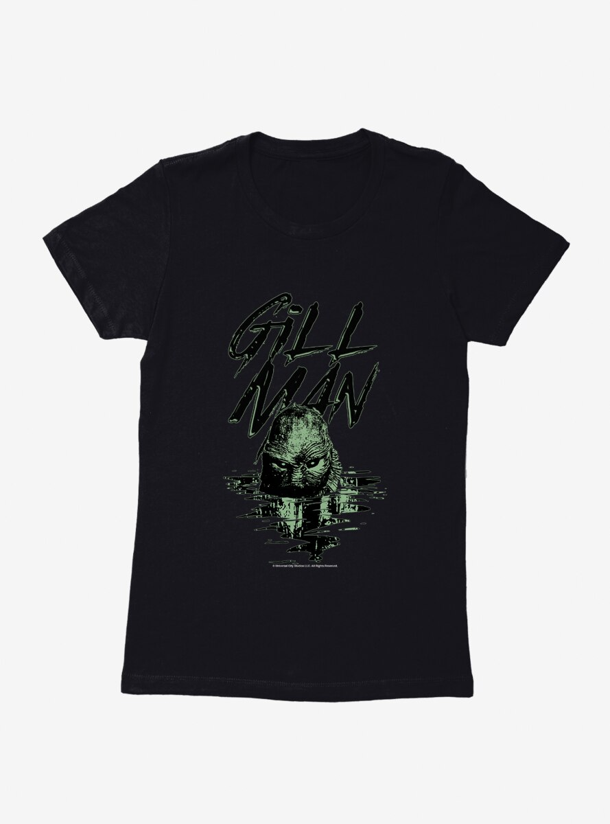The Creature From The Black Lagoon Gill Man Womens T-Shirt
