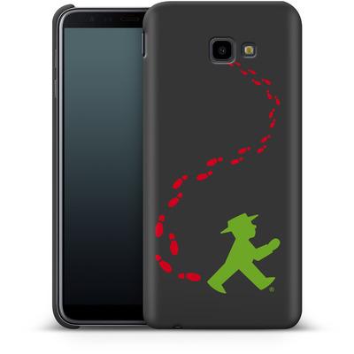 Samsung Galaxy J4 Plus Smartphone Huelle - AMPELMANN Footsteps  von AMPELMANN