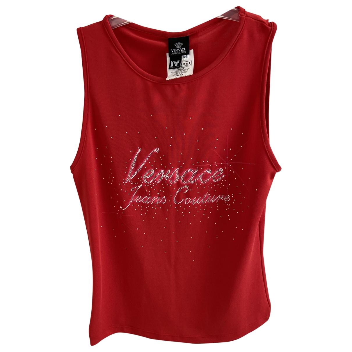 Versace Jeans \N Top in  Rot Viskose