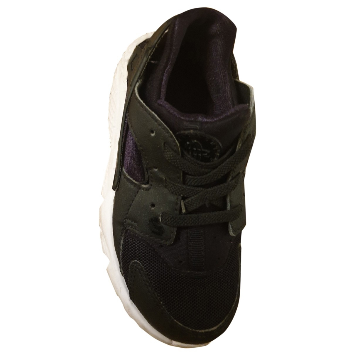 Nike Huarache Sneakers in  Schwarz Leder