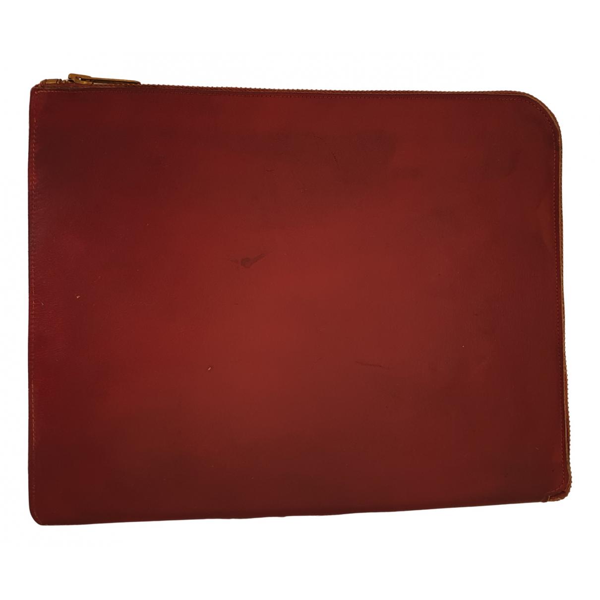 - Objets & Deco   pour lifestyle en cuir - bordeaux