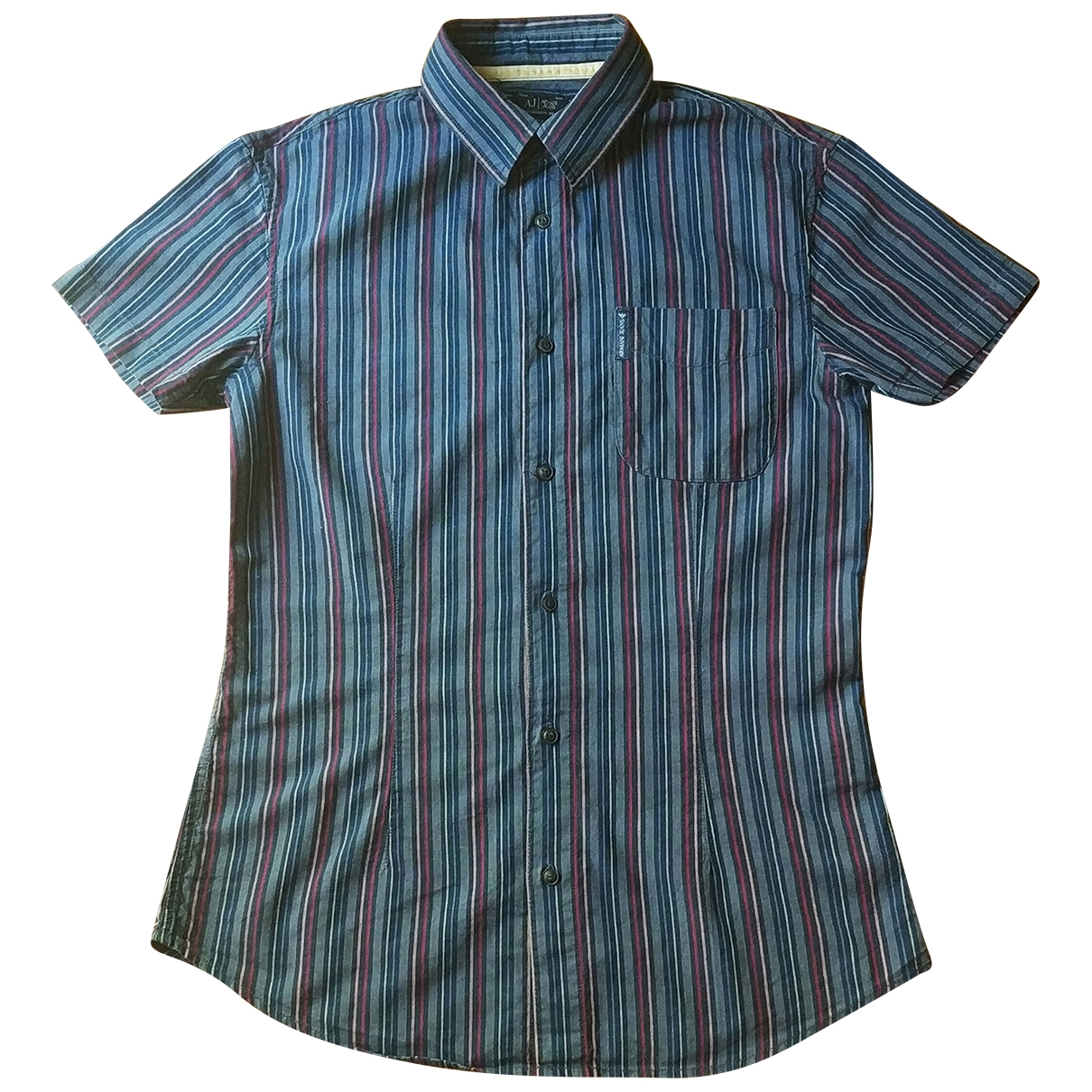 Armani Jean - Chemises   pour homme en coton - multicolore