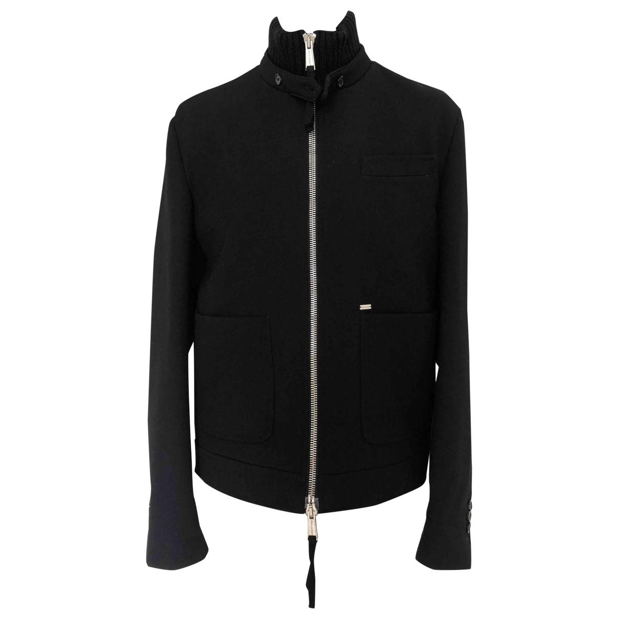 Dsquared2 \N Pullover.Westen.Sweatshirts  in  Schwarz Wolle