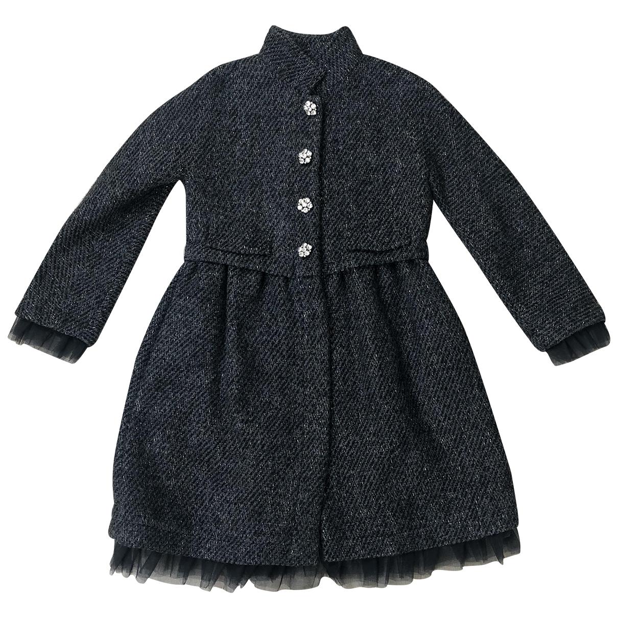 I Pinco Pallino - Blousons.Manteaux   pour enfant en laine - gris