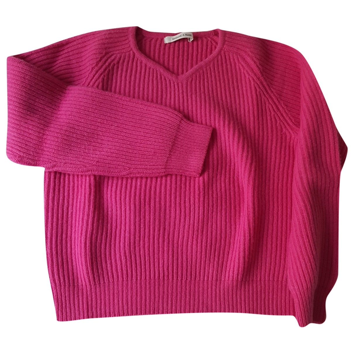 Madame A Paris \N Pullover in  Rosa Wolle