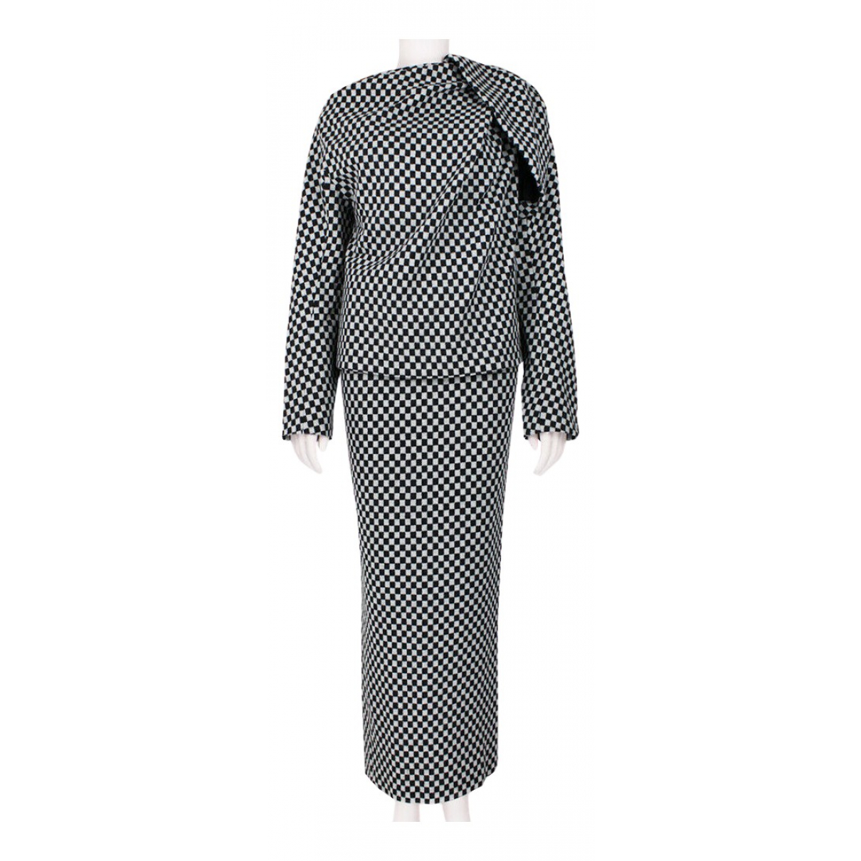 Haider Ackermann \N Black Wool dress for Women 40 FR