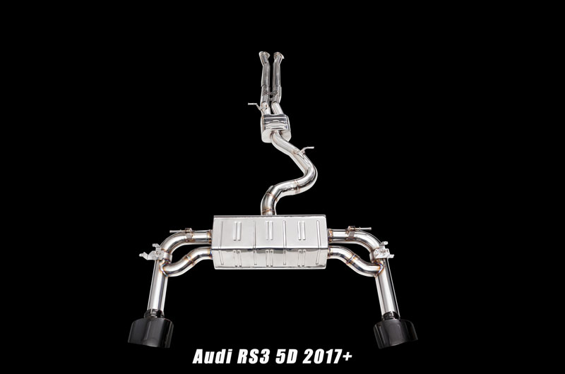 IPE Stainless Steel Exhaust System Audi RS3 8V 15-16
