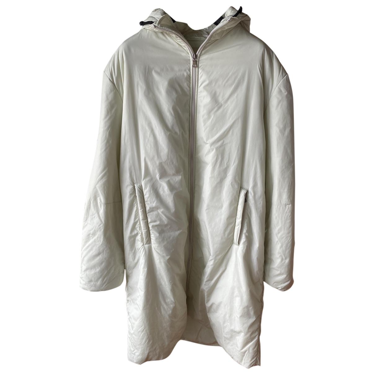 Prada N White coat for Women 48 IT