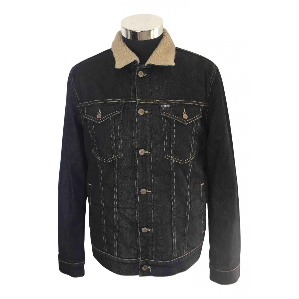 7 For All Mankind N Navy Denim - Jeans jacket  for Men M International