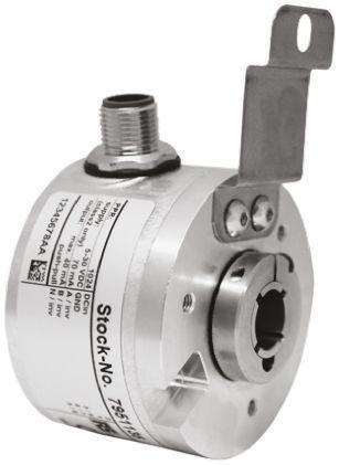 RS PRO Incremental Encoder  200 ppr 6000rpm Hollow 5 → 30 V dc