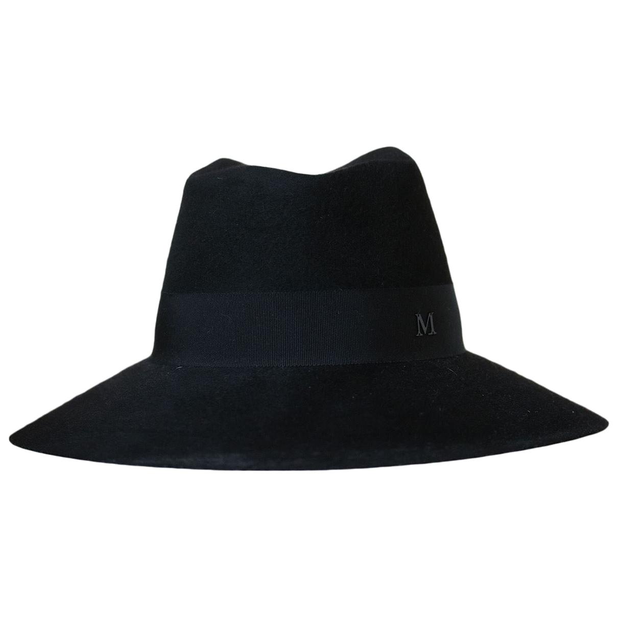 Maison Michel - Chapeau   pour femme en autre - noir