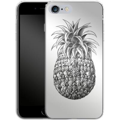 Apple iPhone 6 Plus Silikon Handyhuelle - Ornate Pineapple von BIOWORKZ