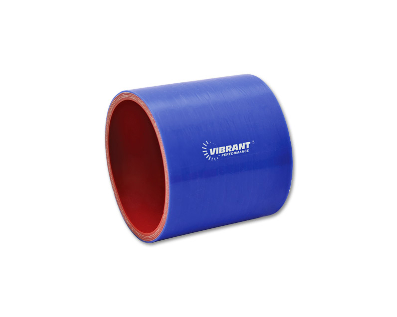 Vibrant Performance 2716B Gloss Blue 4 Ply Aramid Reinforced Silicone Sleeve 3.5