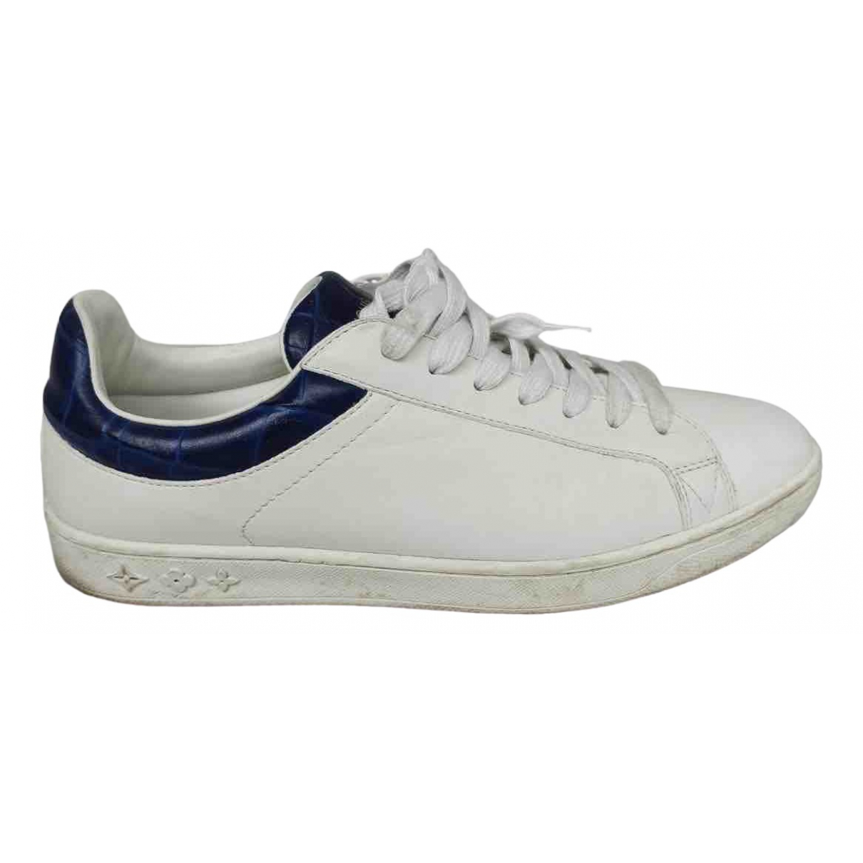 Louis Vuitton \N White Leather Trainers for Men 40 EU