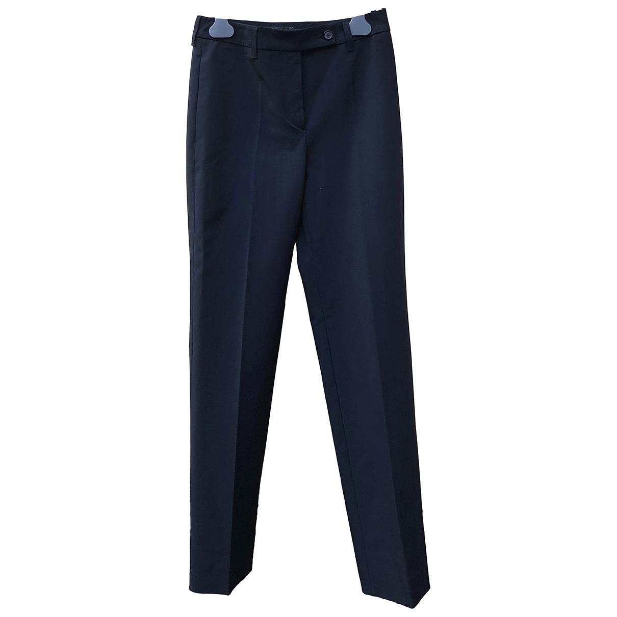 Prada \N Black Trousers for Women 38 IT