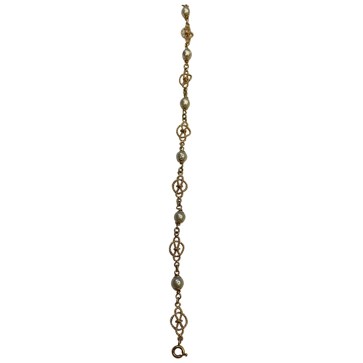 - Bracelet   pour femme en or jaune - dore