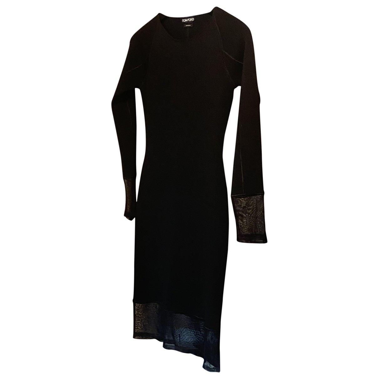 Tom Ford - Robe   pour femme en laine - noir