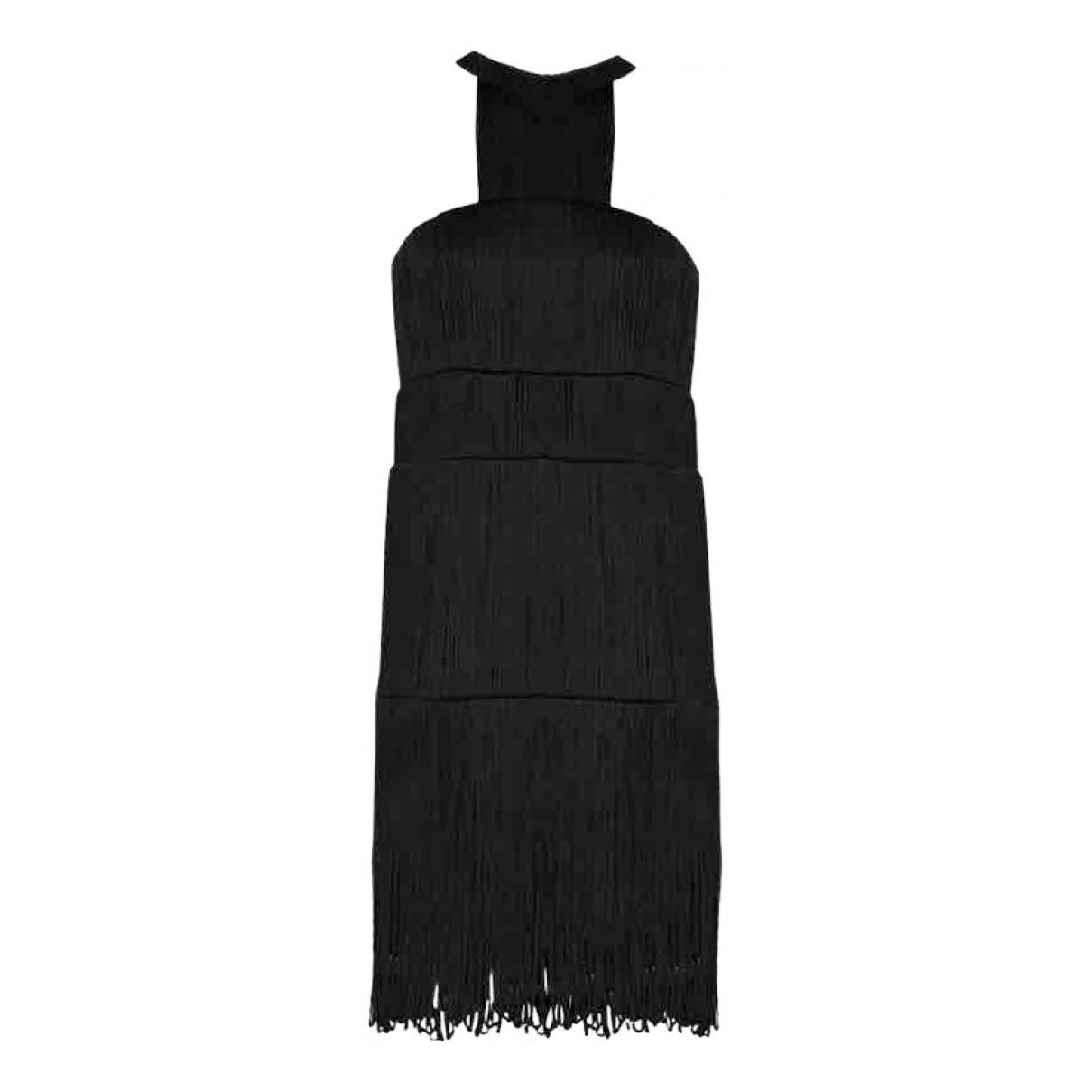 Hoss Intropia \N Kleid in  Schwarz Polyester