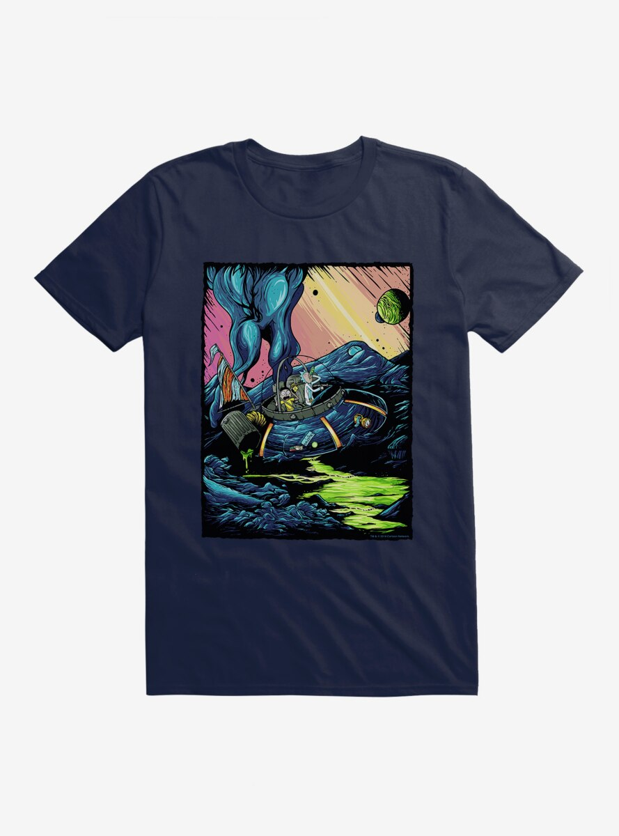 Rick and Morty Business As Usual T-Shirt