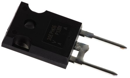 Vishay 600V 30A, Silicon Junction Diode, 2-Pin TO-247AC VS-EPH3006-N3