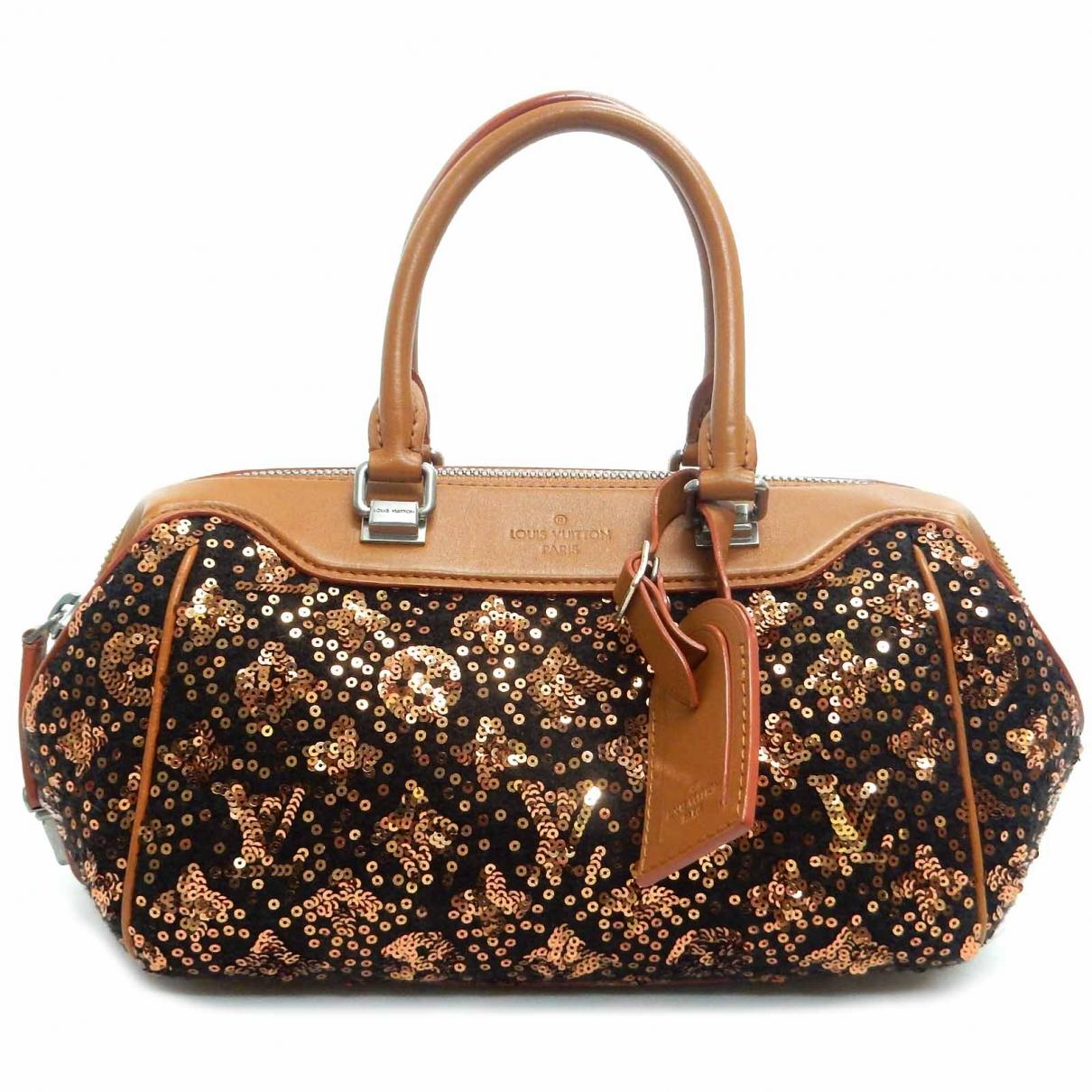 Louis Vuitton \N Brown Glitter handbag for Women \N