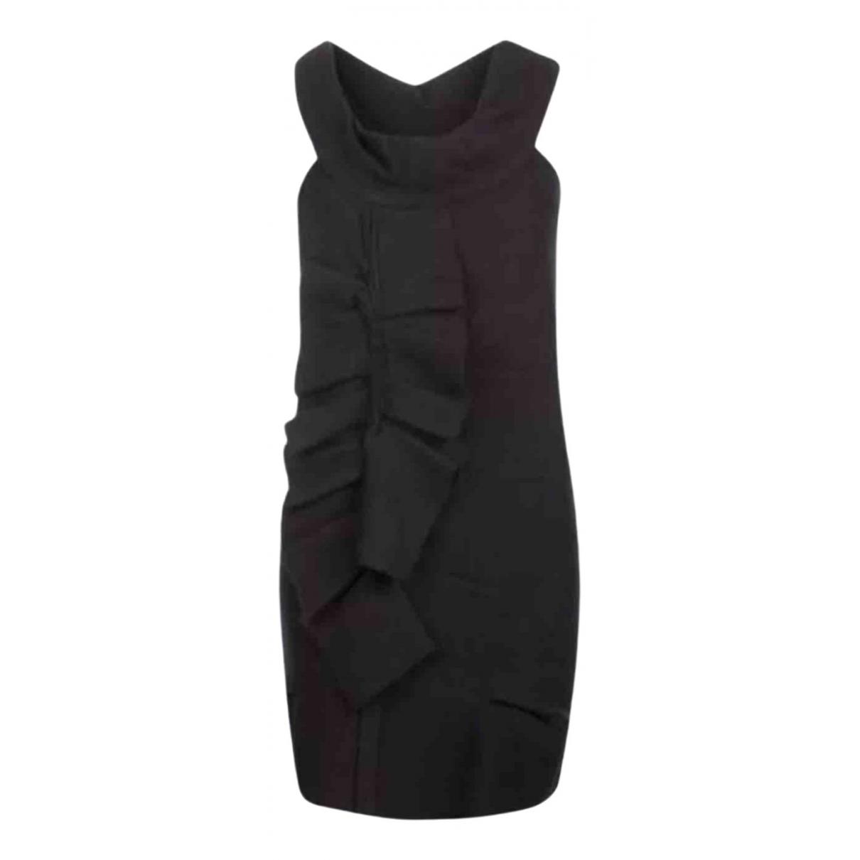 All Saints - Robe   pour femme en laine - noir